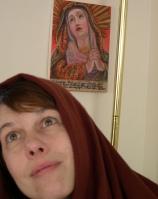J w Dolorosa veil